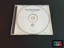 JUEGO SEGA DREAMCAST  ECCO THE DOLPHIN - WHITE LABEL / PROMO (PAL)