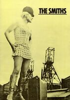 THE SMITHS MORRISSEY 1985 MEAT IS MURDER TOUR CONCERT PROGRAM BOOK-NM TO MINT
