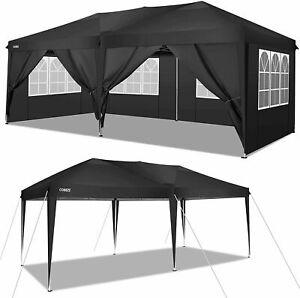 Pop Up GAZEBO 3 x6 m Heavy Duty Commercial Grade MarketStall Marquee Car Shelter