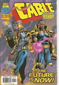 °CABLE #41 THE FUTURE IN NOW CABLE & BISHOP° US Marvel 1997 Todd DeZago