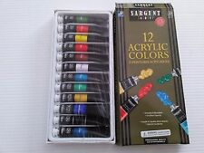 Sargent Art 23-0501 12-Count Tube Acrylic Paint Set, Premium. Shipping Included