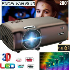 New listing 5000 Lumens Smart Led Projector Portable Hd Video Home Theater Multimedia Hdmi