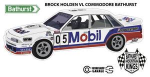 Sticker - Holden VL COMMODORE Bathurst Brock Style