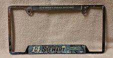 TONY STEWART #14 License Plate Frame Stewart-Haas Racing NASCAR 2010 Metal