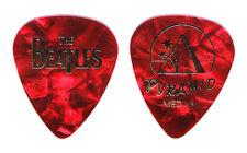 Cheap Trick Tom Petersson Beatles Medium Red Pearl Guitar Pick - 2009 Tour