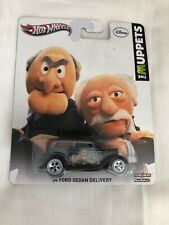 Hot Wheels 2012 Pop Culture The Muppets ~ 1934 Ford Sedan Delivery ~ Real Riders