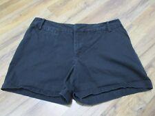 Merona Women's 14 Black  shorts 100% cotton casual summer