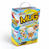 Mug Makeover 2 Cups Create Your Own DIY Painting Design Set Art Craft Childrens