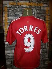 Vintage Liverpool Adidas Torres football soccer jersey shirt trikot maillot '90