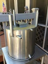 Used 20 Gallons Stainless Steel Tank