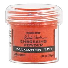 Ranger Wendy Vecchi Embossing Powder CARNATION RED WEP48022