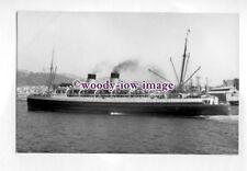 pf2260 - Union SS Co New Zealand Liner - Rangitira , built 1932 - photo T Rayner
