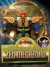 Power Rangers Zeo Megazord action figure New in sealed blister card