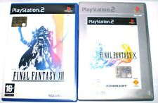 FINAL FANTASY.X- FINAL FANTASY XII Playstation 2 PS2 ITA PAL con manuale usato