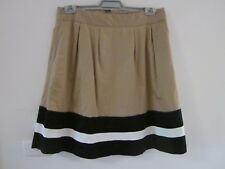 BEAUTIFUL SIZE 14  COTTON SKIRT WITH POLY LINING .