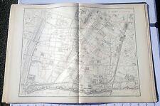 Paris XV ème - Selves Préfet Très Rare Plan de 1905 au 1/5000 (66,5 x 93 cm)