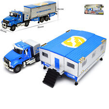 Recreational Vehicle bus Motorhome Trailer Model Toy 1:50 Scale Diecast in box