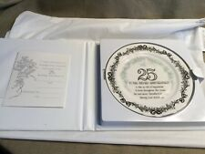 25TH Anniversary Plate - Designer's Collection Limited Edition