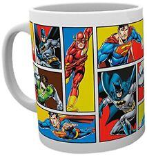 DC Comics Justice League Grid Superheroes Cup Tea Coffee Mug Mugs