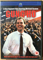 Gung Ho DVD 1986 Ron Howard Giapponese Auto Fabbrica Commedia W/Michael Keaton