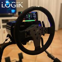 Universal Phone Mount For Fanatec CSL, Clubsport & Podium Wheelbases - Logik3D