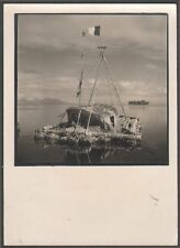 Tahiti. Papeete. Le Kon Tiki. 1947. Expédition