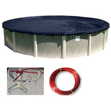 24' Round Deluxe Above Ground Swimming Pool Winter Cover-10 Year Limited WTY