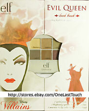 ELF Disney Villains EVIL QUEEN 7pc LOOK BOOK Day+Night Look EYE+LIP+PRIMER Lt Ed