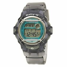 Casio Women's Watch Baby-G Blue and Grey Digital Dial Strap BG169R-8B