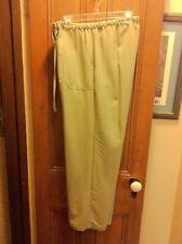 Women's Size L Caribbean Joe Light Olive Pants