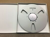 "New! Denon NAB 10.5"" inch Metal Reel for 1/4"" tape custom made"