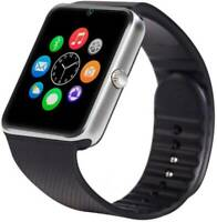 GT08 Bluetooth WATCH GSM Smart WATCH Android IOS iPhone Samsung WhatsApp SILVER