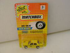 1992 MATCHBOX SUPERFAST MB 53 US TAXI FORD LTD NEW ON CARD