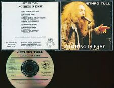 Jethro Tull Nothing Is Easy CD Stockholm 1969 1st show live Swingin' Pig