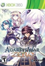 Record of Agarest War 0 Zero: Limited Collector's Edition *New* (Xbox 360, 2011)