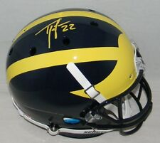 Ty Law Signed Autographed Michigan Wolverines Full Size Helmet Jsa