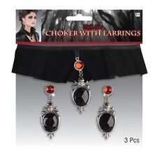 Complementos de terciopelo para disfraces y ropa de época de vampiros