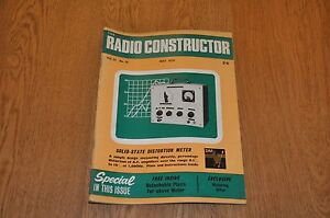 The Radio Constructor Magazine May 1970 Volume 23 Number 10