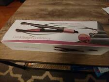 Twisted Curling Flat Iron Hair Straightener Curling Iron