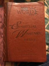 spiritual warfare bible new king james version the word network RARE