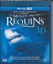 Le Monde des Requins Blu Ray 3D ou 2D Neuf sous cellophane