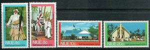 NIUE 1974 Self Government Set of 4 MNH