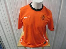 VINTAGE NIKE NETHERLANDS HOLLAND NATIONAL TEAM LARGE SEWN ORANGE JERSEY 2010 KIT