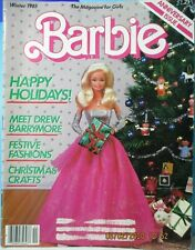 Barbie Magazine Winter 1985 Drew Barrymore