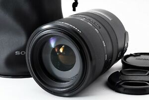 """""""Read"""" SONY SAL70300 70-300mm f/4.5-5.6 SSM A Mount Lens Excellent from Japan"""