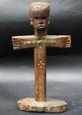 Old Kerewe crucifix statue from Tanzania tribal art african africain