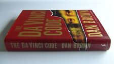 The Da Vinci Code by Dan Brown, Hardback 2003