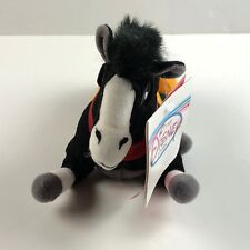 Disneys Mulan Khan Horse Mini Beanie Baby Plush Disney Store Bean Bag NWT