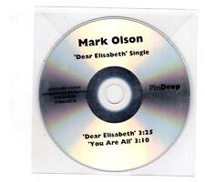 (ID376) Mark Olson, Dear Elisabeth - DJ CD