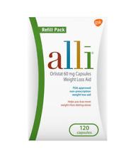 Alli Orlistat Diet Weight Loss Supplement Pills, 60 Mg, 120 Ct